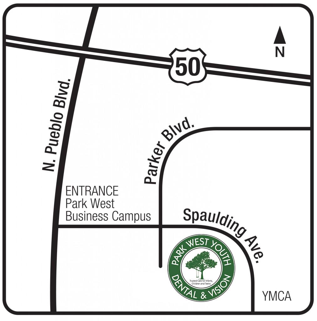 Park West Dental Map 3-2